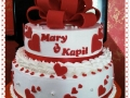 2-tier-marriage-cake