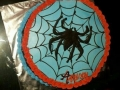 Spider with web cake