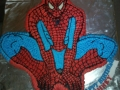 Spiderman Cake 2D