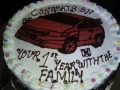 Chocolate Car Cake
